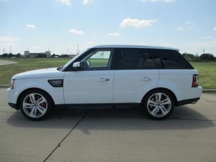 2013 LAND ROVER RANGE ROVER SPORT SUPERCHARGED - WHITE ON BEIGE 3