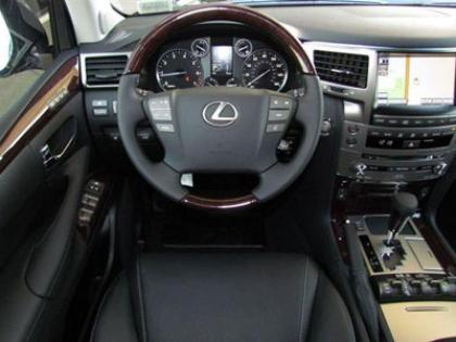 2013 LEXUS LX570 BASE - BLACK ON BLACK 5