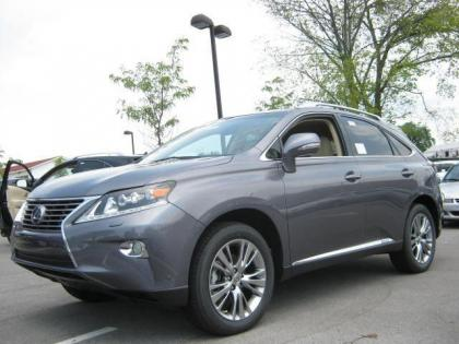 2013 LEXUS RX450 H - GREY ON TAN