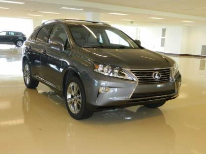 2013 LEXUS RX450 H - GRAY ON GRAY