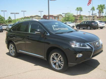 2013 LEXUS RX450 H - BLACK ON BLACK