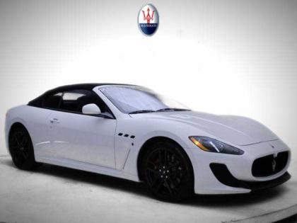2013 MASERATI GRAN TURISMO SPORT - WHITE ON BLACK