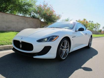 2013 MASERATI GRAN TURISMO MC - WHITE ON BLACK