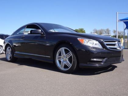 2013 MERCEDES BENZ CL550 4MATIC - BLACK ON BLACK
