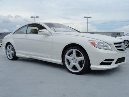 2013 MERCEDES BENZ CL550 4MATIC - WHITE ON BEIGE