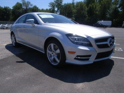 2013 MERCEDES BENZ CLS550 4MATIC - SILVER ON BLACK
