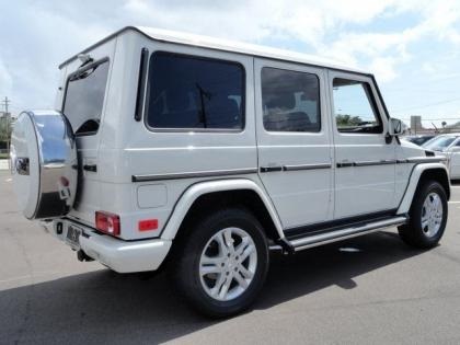 Export new 2013 mercedes benz g550 4matic white on brown for 2013 mercedes benz g550 for sale