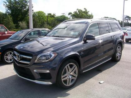 2013 MERCEDES BENZ GL63 AMG - GRAY ON BROWN
