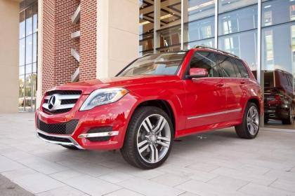 Export New 2013 Mercedes Benz Glk350 4matic Red On Black