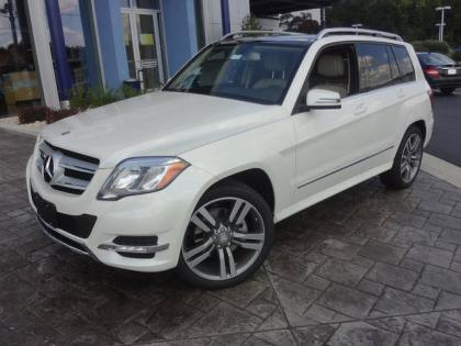 2013 MERCEDES BENZ GLK350 4MATIC - WHITE ON BEIGE