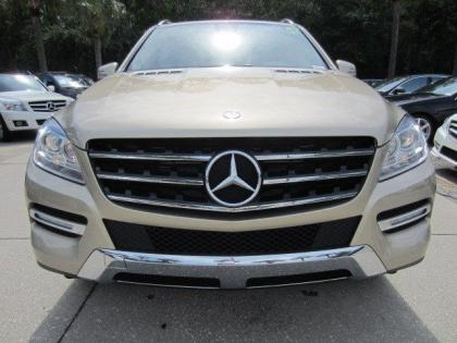 2013 MERCEDES BENZ ML350 4MATIC - BEIGE ON BEIGE