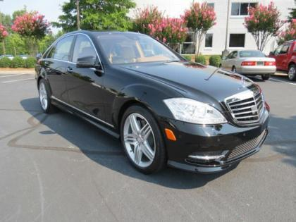 2013 MERCEDES BENZ S550 BASE - BLACK ON BEIGE