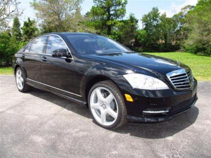 2013 MERCEDES BENZ S550 BASE - BLACK ON BLACK