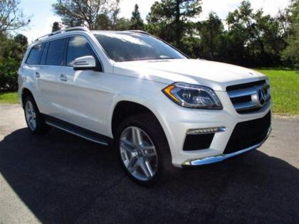 2013 MERCEDES BENZ GL550 4MATIC - WHITE ON BEIGE