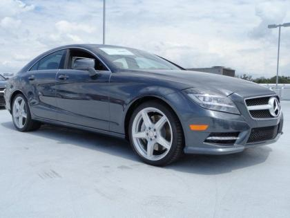 2013 MERCEDES BENZ CLS550 BASE - GREY ON BLACK