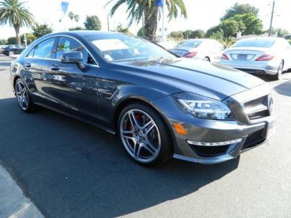 2013 MERCEDES BENZ CLS63 AMG - GREY ON BLACK