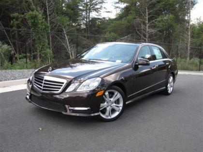2013 MERCEDES BENZ E350 4MATIC - BROWN ON BEIGE