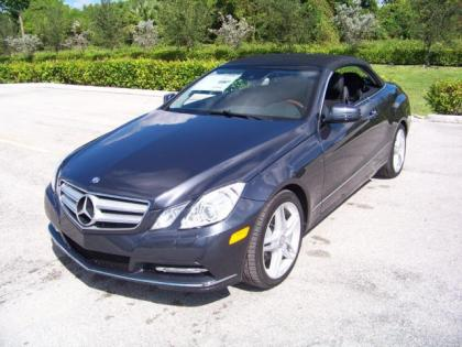 2013 MERCEDES BENZ E350 BASE - GREY ON BLACK