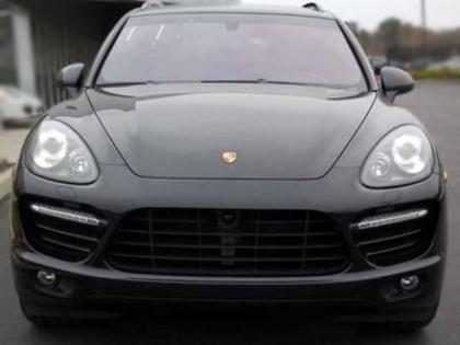 2013 PORSCHE CAYENNE TURBO - BLACK ON BLACK 2