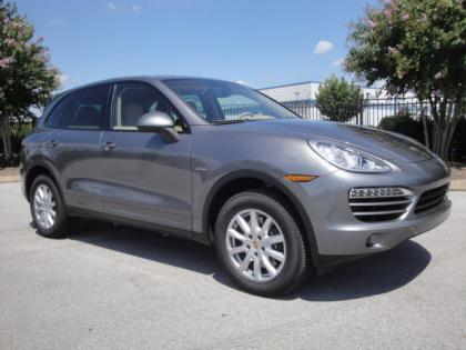 2013 PORSCHE CAYENNE DIESEL - GRAY ON BEIGE