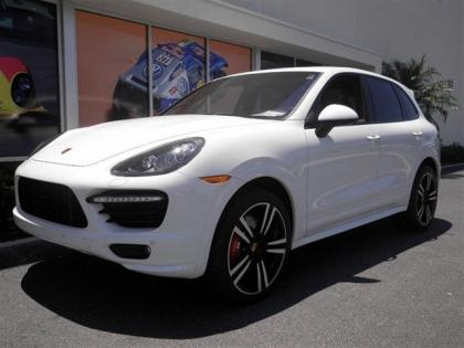 2014 PORSCHE CAYENNE TURBO S - WHITE ON BEIGE