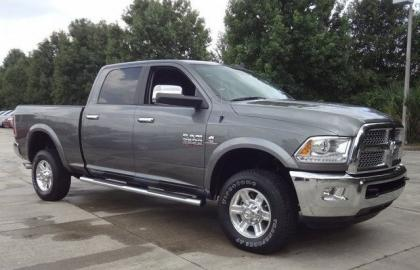 2013 RAM 2500 LARAMIE - GRAY ON BLACK