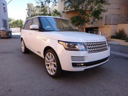 2013 LAND ROVER RANGE ROVER SC - WHITE ON WHITE