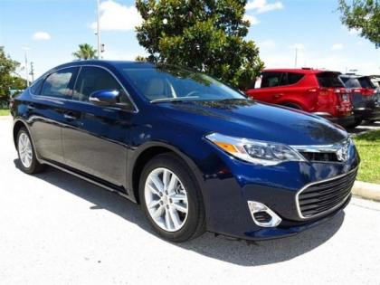 2013 TOYOTA AVALON XLE - BLUE ON BEIGE
