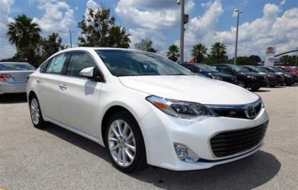 2013 TOYOTA AVALON LIMITED - WHITE ON BEIGE