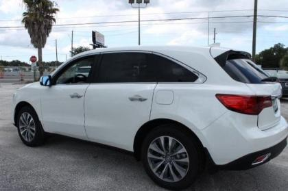 Export New 2014 ACURA MDX TECH PACKAGE - WHITE ON BEIGE
