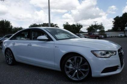 2014 AUDI A6 3.0T PREMIUM PLUS - WHITE ON GRAY