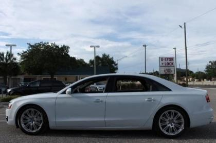 2014 AUDI A8 4.0T - WHITE ON BROWN 4