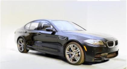 2014 BMW M5 BASE - BLACK ON BLACK