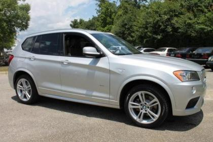 2014 BMW X3 XDRIVE35I - SILVER ON GRAY