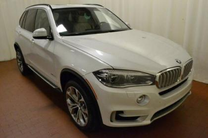 2014 BMW X5 XDRIVE50I - WHITE ON BEIGE