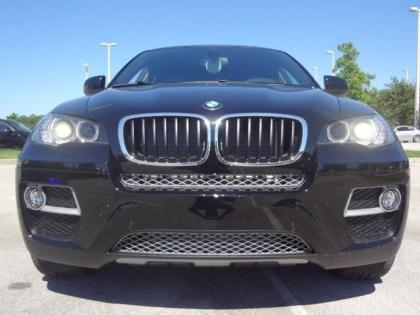 2014 BMW X6 XDRIVE35I - BLACK ON ORANGE