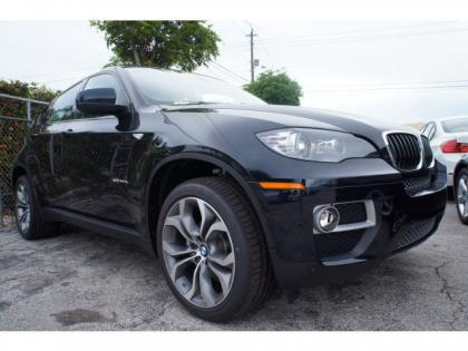 2014 BMW X6 XDRIVE35I - BLACK ON RED 1