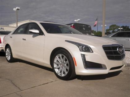 2014 CADILLAC CTS 2.0L TURBO I4 AWD - WHITE ON BLACK