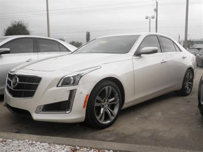 2014 CADILLAC CTS PREMIUM - WHITE ON BLACK