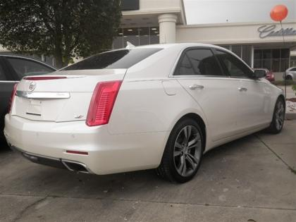 2014 CADILLAC CTS PREMIUM - WHITE ON BLACK 2