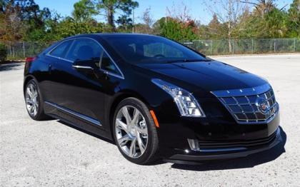 2014 CADILLAC ELR BASE - BLACK ON BROWN