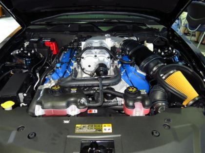 2014 Mustang Shelby GT500 Engine