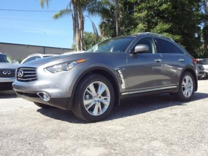 export new 2014 infiniti qx70 base gray on black