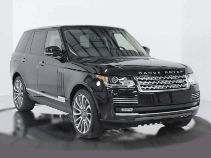 2014 LAND ROVER RANGE ROVER SC AUTOBIOGRAPHY - BLACK ON BLACK 2