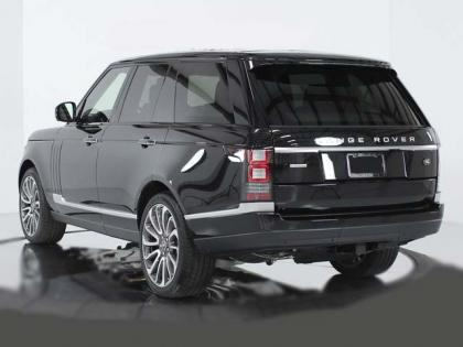 2014 LAND ROVER RANGE ROVER SC AUTOBIOGRAPHY - BLACK ON BLACK 4