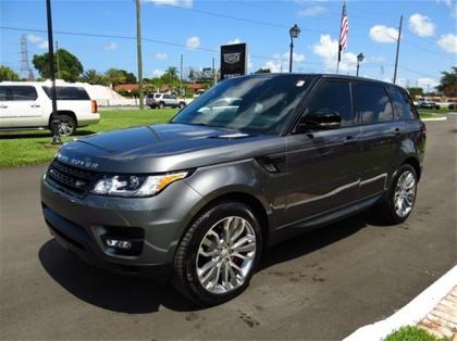 2014 LAND ROVER RANGE ROVER SPORT SUPERCHARGED - GRAY ON BLACK 1