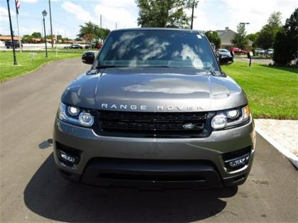 2014 LAND ROVER RANGE ROVER SPORT SUPERCHARGED - GRAY ON BLACK 2