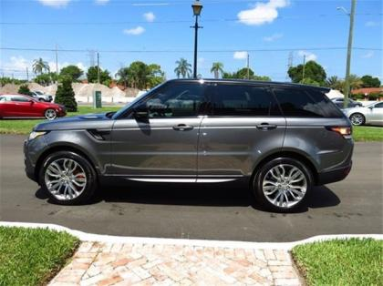 2014 LAND ROVER RANGE ROVER SPORT SUPERCHARGED - GRAY ON BLACK 3