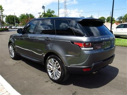 2014 LAND ROVER RANGE ROVER SPORT SUPERCHARGED - GRAY ON BLACK 4