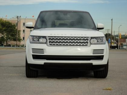 2014 LAND ROVER RANGE ROVER HSE - WHITE ON BLACK 2